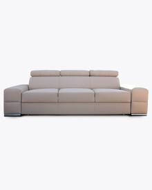Sofa Loft 3 z regulowanymi zagłówkami