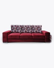 Sofa Amber 1  Elegancki wygląd sofy Amber 1, pięknie wkomponuje się w Twoje wnętrze.  Prezentowany produkt ze zdjęcia zawiera:  • sofa z funkcją...