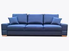 Sofa Amber 3  Elegancki wygląd sofy Amber 3, pięknie wkomponuje się w Twoje wnętrze.  Prezentowany produkt ze zdjęcia zawiera:  • sofa z funkcją...