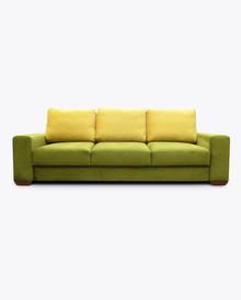 Sofa Amber 2  Elegancki wygląd sofy Amber 2, pięknie wkomponuje się w Twoje wnętrze.  Prezentowany produkt ze zdjęcia zawiera:  • sofa z funkcją...