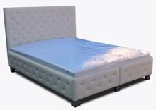 Łóżko sypialniane 1  Łóżko sypialniane pięknie wkomponuje się w Twoje wnętrze.  Prezentowany produkt ze zdjęcia zawiera:  • pojemnik na...