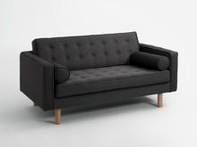 Sofa 2-osobowa TOPIC WOOD rozkładana