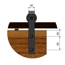System Do Drzwi Przesuwnych Design Line REA - Valcomp