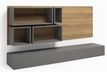 Zestaw push 011 z kolekcji GRAY  Modna kolorystyka nada Twojemu wnętrzu stylowego klimatu. Mebel świetnie sprawdzi się w małym pomieszczeniu. ...