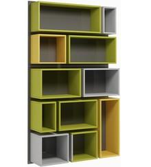 Regał wiszący onze colour 020 z kolekcji SQUAD  Modna kolorystyka nada Twojemu wnętrzu stylowego klimatu. Mebel świetnie sprawdzi się w małym...