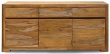 Wymiary: Szerokość: 177 cm Wysokość: 80 cm Głębokość: 40 cm Drewno: Palisander teak