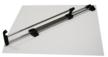 Wieszak wysuwny puzon E50 L 400mm.  Kolor pokrycia - chrom połysk, czarny mat. Materiał - tworzywo sztuczne/metal Długość ramienia wysuwnego - 400mm....