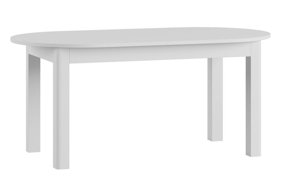 Stół Rozkładany Neptun Biały Wysoki Połysk Szynaka Meble Meble