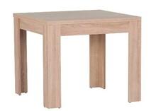 Wymiary:  - Wysokość: 77 cm - Długość: 90-180 cm - Głębokość: 90 cm -Odległość pomiędzy nogami stołu SATURN 40 – 66 cm Dodatkowe...