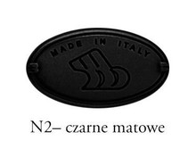 Gałka 24220 Czarny Mat fi 30 mm - Bosetti-Marella