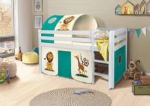 Łóżko dziecięce LUPO Safari