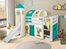 Łóżko dziecięce ORSO SAFARI + TUNEL