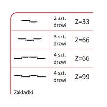 Rączka WESTA BIS 16/18 Do Drzwi Przesuwnych Biały Połysk 270 cm - Aluprofil