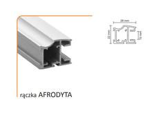 Rączka Afrodyta 10/M Do Drzwi Przesuwnych Biały Połysk dł. 270cm - Aluprofil