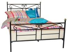 Odrobina klasyki nigdy nie zaszkodzi.Łóżko do sypialni Korsykato rama,która z jednej strony nie przytłacza swoim kształtem, z drugiej...