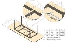 Mechanizm Chowany Do Stołu - Siso