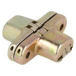 Zawias VICI do blatów składanych o kącie otwarcia 180 stopni. Do montażu wymagane frezowanie w płycie/blacie. Wykończenie:korpus: znal—żółty...