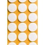 Podkładki meblowe Koło fi 20 mmfilc kolor szary  Podkładki sprzedawane w arkuszach. Ilość podkładek na arkuszu- 28 szt.  Właściwy kolor...