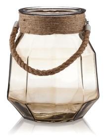 Lampiony ATINO nadadzą wnętrzom niebywale oryginalnego smaku. Szklane o rozmiarze XXL , i kształcie geometrycznej zaokrąglonej, futurystycznej bryły , w 4...