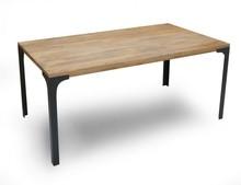 Stół  drewniany, loft, industrialny