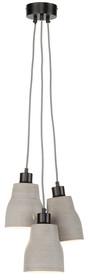 Lampa betonowa CADIZ marki It'a About RoMi z trzyelementowym splotem to naprawdę super propozycja do tych pomieszczeń, które wykończone są...
