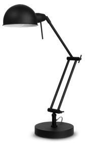 Lampa stołowa Glasgow czarna 68x15x9cm