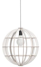 Lampa wisząca biała Helsinki w kolorze białym holenderskiej marki It's About RoMi w kształcie kuli.Lekka i delikatna, wykonana ze sklejki. Do każdego...