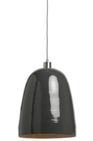 Lampa wisząca Saigon szara 32x39cm