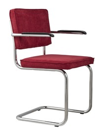 Fotel RIDGE RIB - czerwony 21A