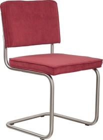 Krzesło RIDGE BRUSHED RIB czerwone 21A