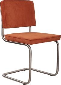 Krzesło RIDGE BRUSHED RIB - pomarańczowe 19A