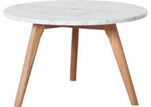 Stolik STONE L - biały