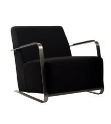 Fotel ADWIN FELT - czarny