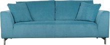 Sofa 3-osobowa DRAGON - niebieska