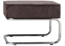 Podnóżek Ridge RIB  Materiał: Obicie stołka wykonane z materiału podobnego do filcu (88%nylon, 12% polyester) w kolorze szarym. Rama metalowa...