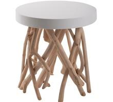 Uniwersalny stolik CUMI posiada przyciągające wzrok nogi, które wykonane zostały z drzewmango występującego w lasach namorzynowych....