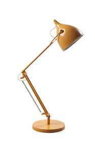 Lampa Reader Matt White w kolorze żółtym  Cechy: Lampa o metalowej strukturze Przewód z przyciskiem on/off. Typ i moc żarówki: E27, max.22...
