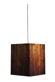 Lampa wisząca Heavy Light Warm Wood. Lampa zaprojektowana przez Tom/Jakobs. Lampa sprawia wrażenie masywnej i cięzkiej jednak to tylko złudzenie gdyż...