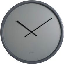 Zegar TIME BANDIT koloru szarego.  Zegar wykończony szarym obramowaniem, szarą tarczą i czarnymi wskazówkami Średnica zegara 60cm.  Zegar zasilany...