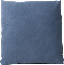 Poduszka VINTAGE FESTON. Dwustronna jedna strona w kolorze niebieskim, druga w kolorze zielonobeżowym.  Materiał: 100 % bawełna, wypełnienie...