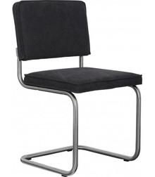 Krzesło RIDGE VINTAGE - czarne