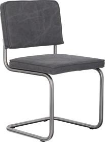 Krzesło RIDGE BRUSHED VINTAGE - szare