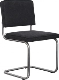 Krzesło RIDGE BRUSHED VINTAGE czarne