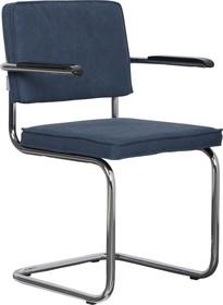Fotel RIDGE VINTAGE - niebieski