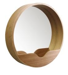 Nietypowelustro ścienne Roundmarki Zuiver to produkt dla wszystkich tych, którzy poszukują oryginalnego oraz funkcjonalnego lustra, które...