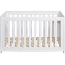 Łóżeczko dla dzieci NEW LIFE białe  Kolor:  - Biały  Wymiary:  - Wysokość: 79 cm - Szerokość: 125 cm - Głębokość: 66 cm  Materiał: ...