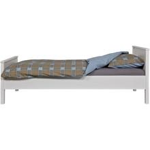 Łóżko JADE  Szuflady, listwy pod materac i materac sprzedawane osobno.  Kolor:  - Biały  Wymiary:  - Wysokość: 80 cm - Szerokość: 97 cm -...