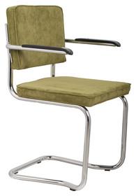 Fotel RIDGE KINK RIB - zielony 25A