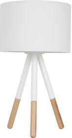 Lampa stołowa HIGHLAND marki Zuiver.  Materiał: Podstawa wykonana z trzech zaokrąglonych,metalowychnóg z wykończeniem gumowym oraz PCV....