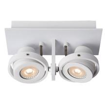 Spotlight LUCI z dwoma źródłamiświatła. Możliwość ustawienia lampw każdym kierunku.  Materiał: aluminium  Wymiary: 23x11.5x12.8cm